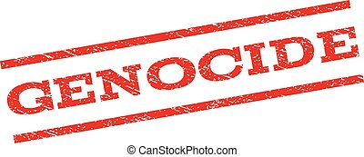 Genocide Watermark Stamp - Genocide watermark stamp. Text...