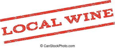Local Wine Watermark Stamp - Local Wine watermark stamp....