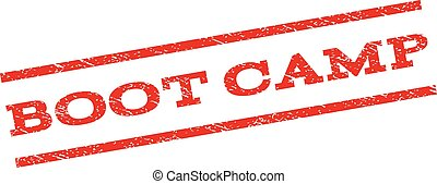 Boot Camp Watermark Stamp - Boot Camp watermark stamp. Text...