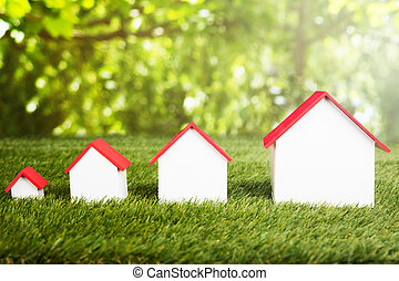 Different Size Of Houses In Row