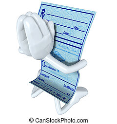 Medical Prescription Praying - A Concept And Presentation...