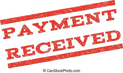 Payment Received Watermark Stamp