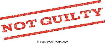 Not Guilty Watermark Stamp - Not Guilty watermark stamp....
