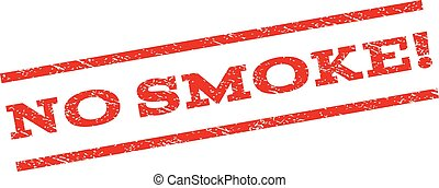 No Smoke! Watermark Stamp - No Smoke! watermark stamp. Text...