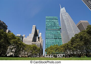 Bryant Park. - Bryant Park in New York City.
