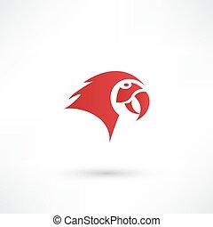 Parrot - vector illustration