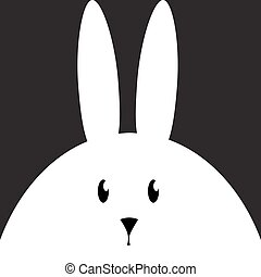 Easter Rabbit animal cartoon