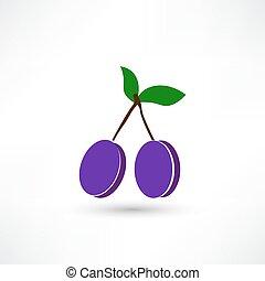 two plum icon