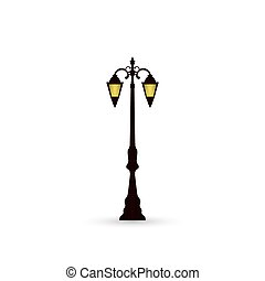 Street light icon