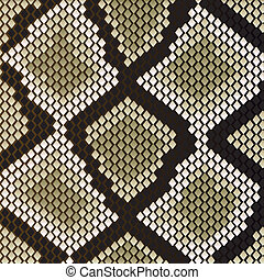 Snake skin pattern for design as a background