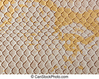 Abstract texture of synthetic leather, snake macro...