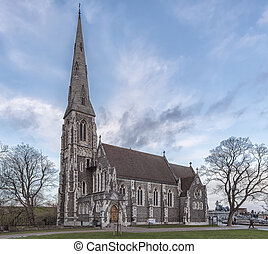 Copenhagen Saint Albans - St. Alban's church, located in...