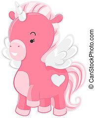 Cute Pink Unicorn