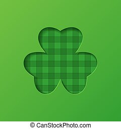 Illustration of clover leaf