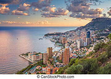 Monaco. - Cityscape image of Monte Carlo, Monaco during...