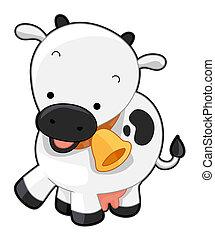 mignon, vache
