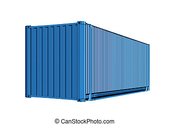 container for cargo transportation