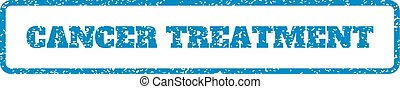 Cancer Treatment Rubber Stamp