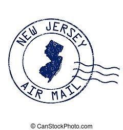 New Jersey post office sign or stamp - New Jersey post...