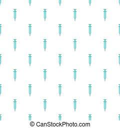Syringe pattern, cartoon style - Syringe pattern. Cartoon...