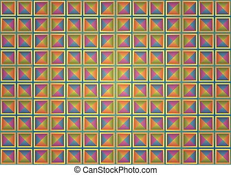 colorful background squares.