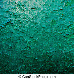 Green Grunge Background. old wall