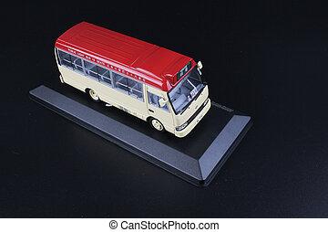 red mini bus toys at hong kong - the mini bus toys at hong...