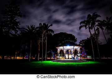 Spreckels Christmas - Spreckels Park with Christmas...