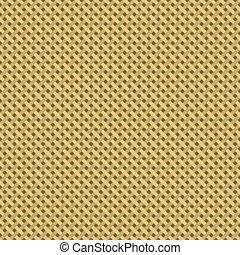 Woven canvas burlap seamless diagonal texture. Vector...