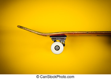 view of the skateboard on the background - view of the...
