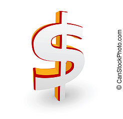 Dollar symbol - Vector illustration of Dollar symbol...