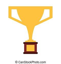 trophy victory winner american football