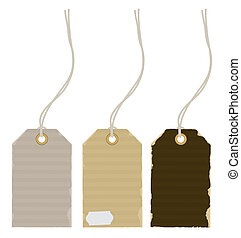 price tags - Vector illustration Set of product price tags