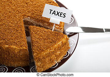 metaphor for the payment of taxes - metaphor in the form of...