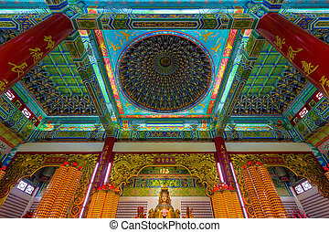 dentro,  hou,  thean, templo