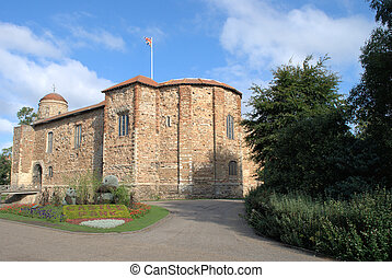 Colchester Castle - Castle at colchester well preserved with...