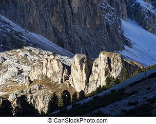Dolomitic landscape - Landscape of the italian dolomites
