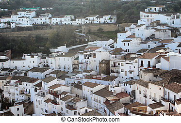 Andalusian village photo