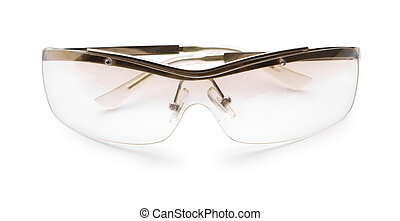 glases isolated on a white background