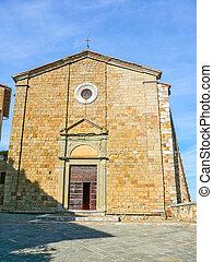 HDR Rocca di Castiglione Orcia, Italy - High dynamic range...