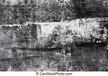 Black wall background - grange texture vintage background...