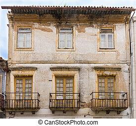 Português,  aveiro, Veneza,  façades,  PORTUGAL