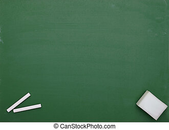 chalkboard classroom school education - close up of an empty...