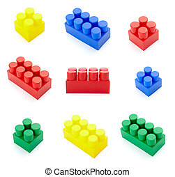 toy lego block construction education childhood - collection...