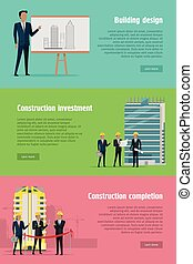 Building Design Construction Investment Completion