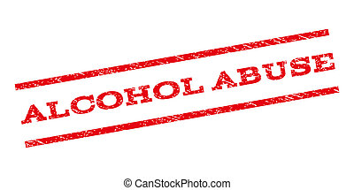Alcohol Abuse Watermark Stamp - Alcohol Abuse watermark...