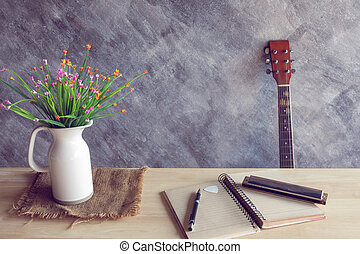 guitar and mouthorgan - Relaxing time with mouthorgan and...