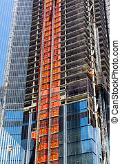 Skyscraper construction industry.
