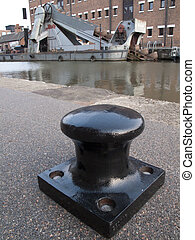 Gloucester Docks - Canal Dredger