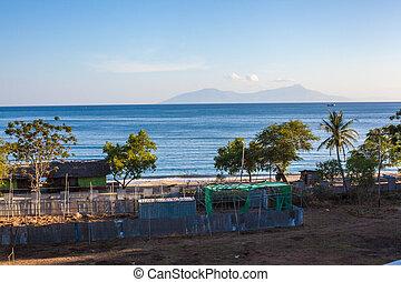 View of atauru Island - View of Atauro Island from mainland...